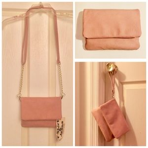 Mauve *3-in-1* multi-pocket 👜 by T-Shirt & Jeans